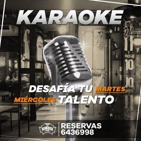 Karaoke en La Barra Pub