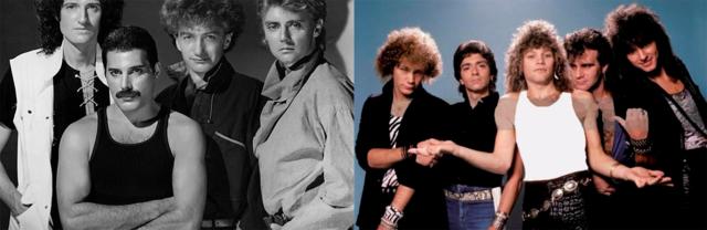 Noche de Clásicos de Rock de los 80s y 90s