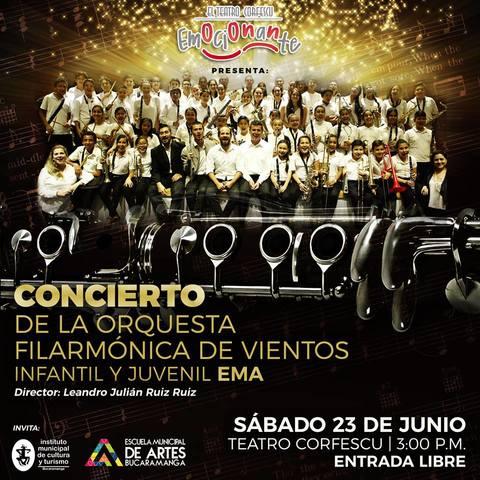 En concierto, Orquesta Filarmónica infantil - EMA