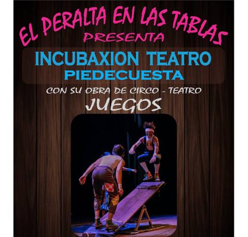 Incubaxion Teatro Piedecuesta presenta su Obra, Juegos