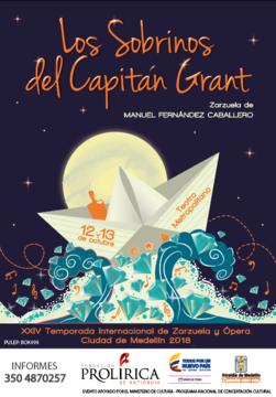 Zarzuela, Los Sobrinos del Capitán Grant