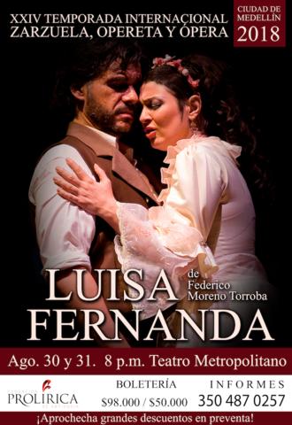 Zarzuela, Luisa Fernanda