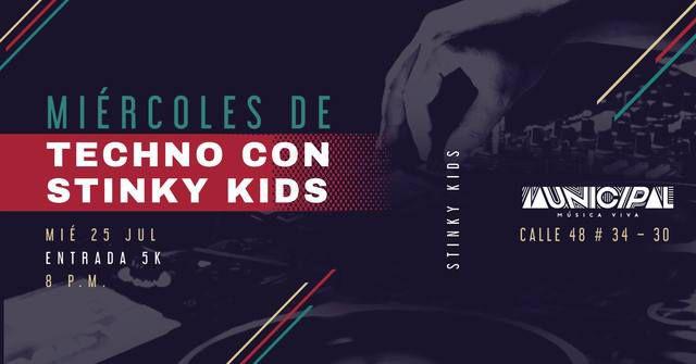 Miércoles de Techno con los Stinky Kids