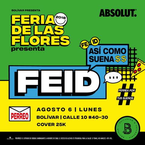 Feria de las Flores en Bolívar con FEID