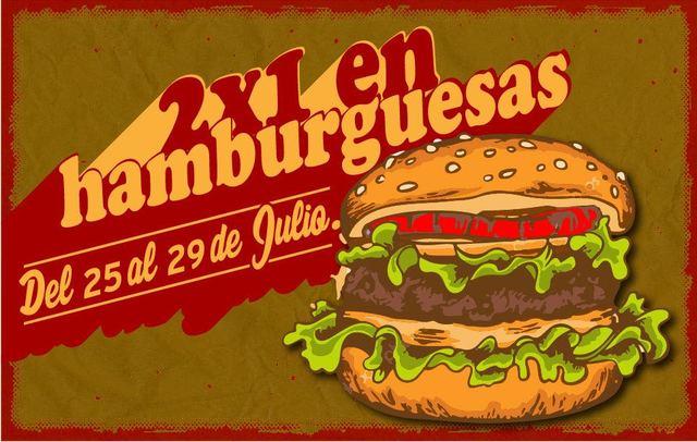 2X1 en Hamburguesas El Social.