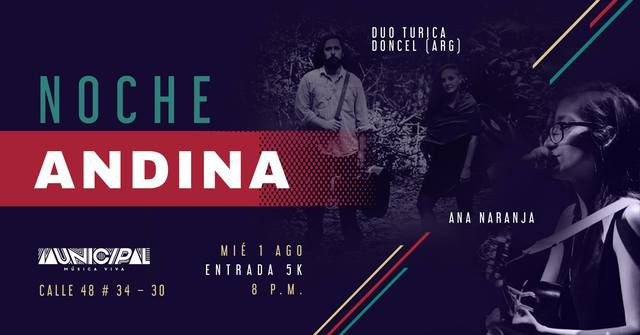 Noche Andina en Municipal - Música Viva