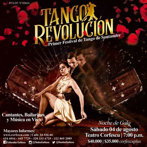 """Noche de Gala del """"TANGO REVOLUCIÓN"""", Primer Festival de Tango de Santander."""