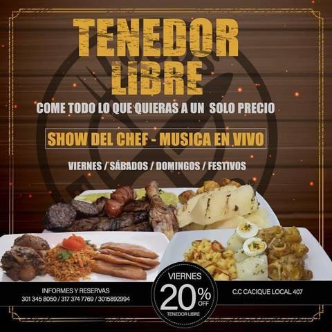 All You Can Eat - Locos X El Asado Tenampa