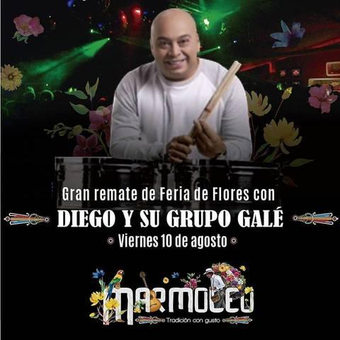 Remate de Feria de Flores 2018 con Diego y su Grupo Galé