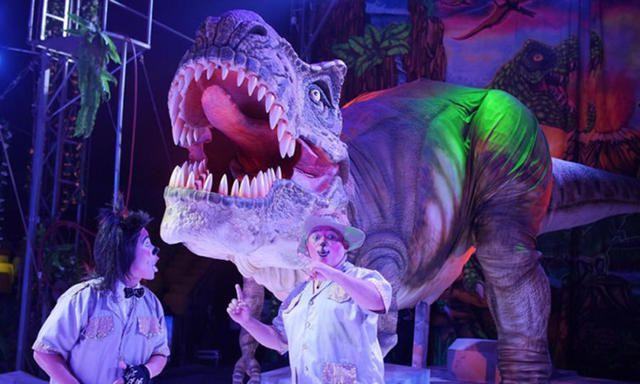 Circo Gigante Dinosaurios Bogotá