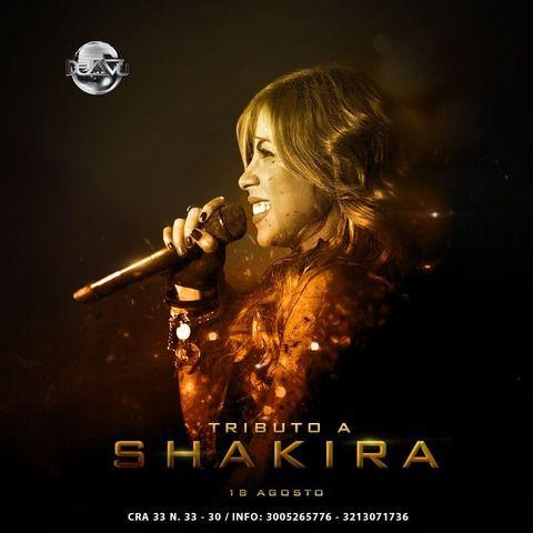 Tributo a Shakira con Laura Padilla en Déjà Vu