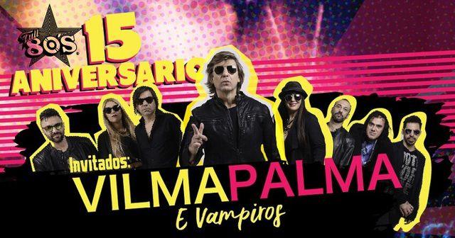 La fiesta más retro con Vilma Palma e Vampiros.