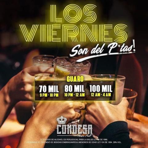 Rumba crossover en La Condesa Disco.