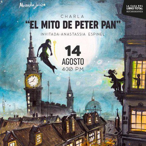 """Charla: """"El Mito De Peter Pan"""""""