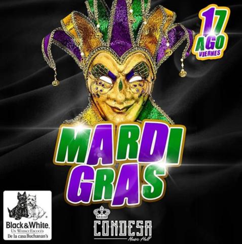 ¡El carnaval Mardi Grass se toma La Condesa!