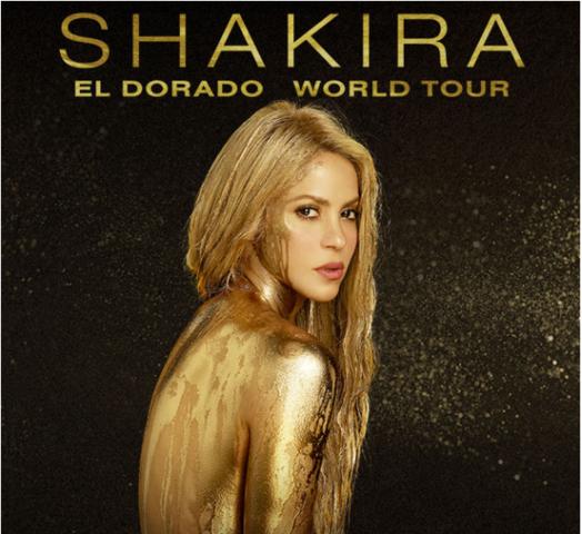 Shakira, El Dorado World Tour en Bogotá