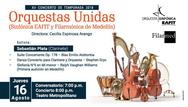 XII Concierto De Temporada 2018 Orquestas Unidas