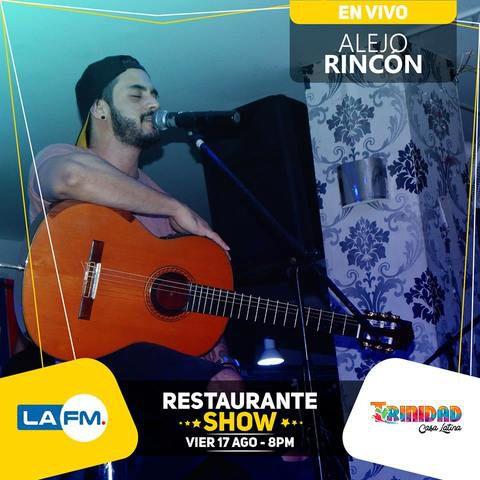 Alejo Rincón en vivo en Trinidad Casa Latina.