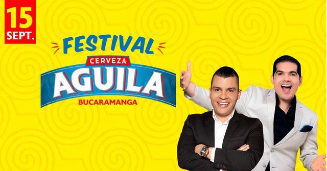 Peter Manjarrés y Alzate en el Festival de la Cerveza