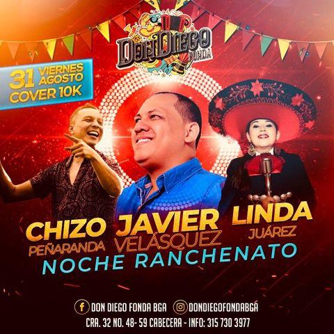 Noche de Ranchenato en Fonda Don Diego.