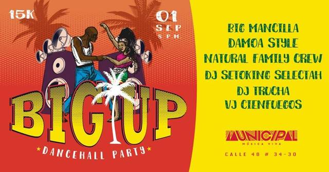BigUp-Dancehall Party