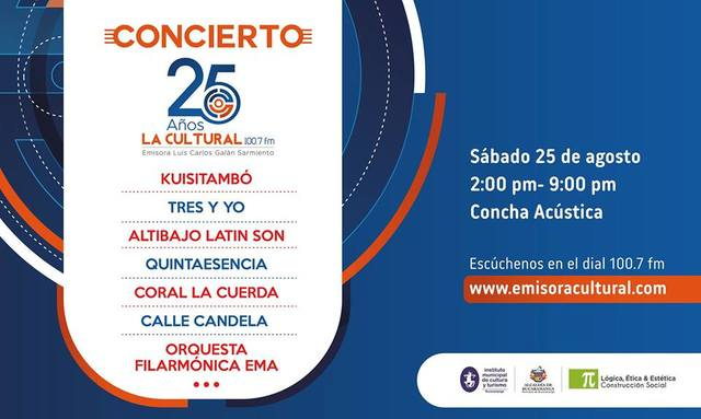 CELEBRACIÓN 25 AÑOS DE LA EMISORA LUIS CARLOS GALÁN SARMIENTO
