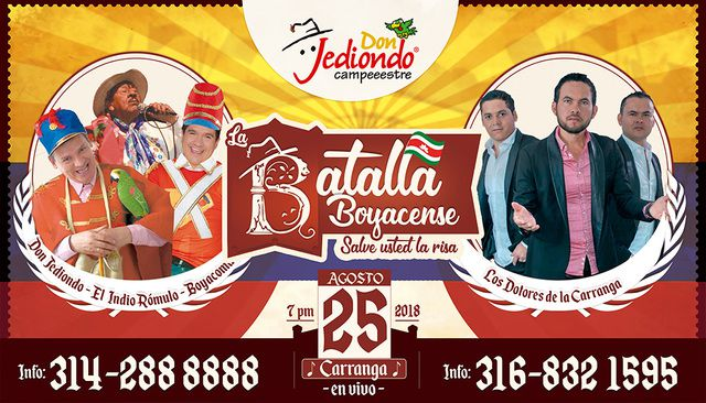 Show de humor en Don Jediondo Gurme`s