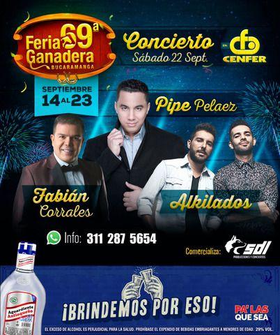Feria Ganadera 2018: Fabián Corrales, Pipe Pelaez y Alkilados