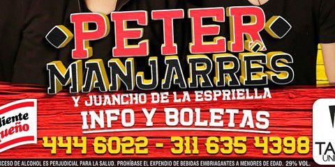 Peter Manjarrés En Concierto