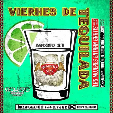¡Viernes de Tequilada!