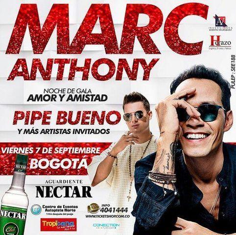 Marc Anthony en Bogotá