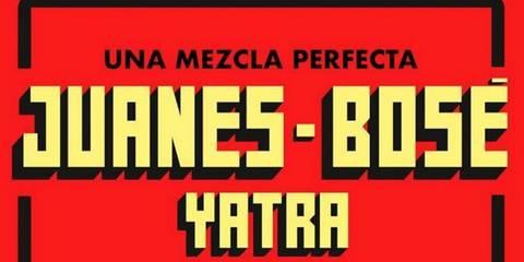 Concierto Juanes, Bosé y Yatra
