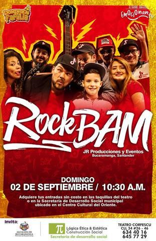 Concierto de Rock BAM.