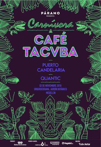 Café Tacvba en concierto