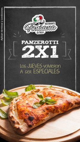 2x1 en Panzerottis