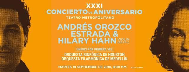 XXXI Concierto de Aniversario Teatro Metropolitano
