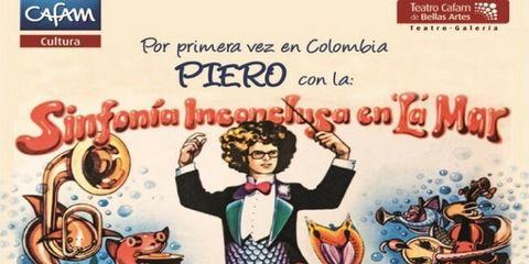 """Piero en concierto: """"La Sinfonía inconclusa en la mar"""""""