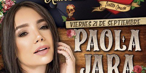 Paola Jara en concierto