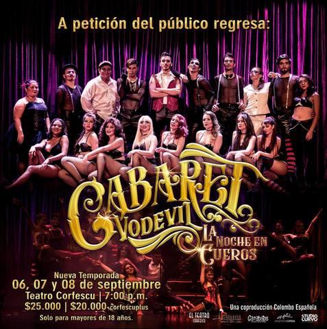 Cabaret Vodevil-La Noche En Cueros