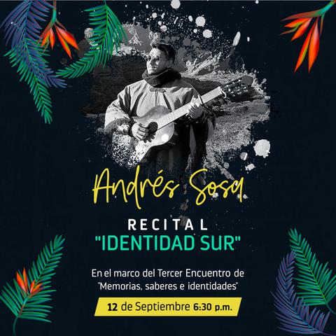 Recital ''Identidad del Sur''