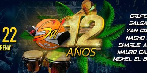 Aniversario El Sol 107.9
