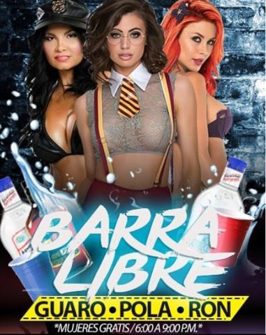 Jueves de Barra Libre en La Terrazza.