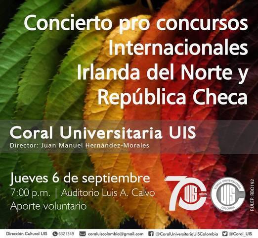 Lanzamiento Festival Coral de Santander 2018