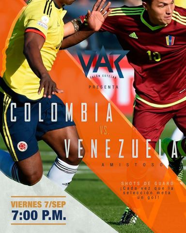 Amistoso Colombia VS Venezuela