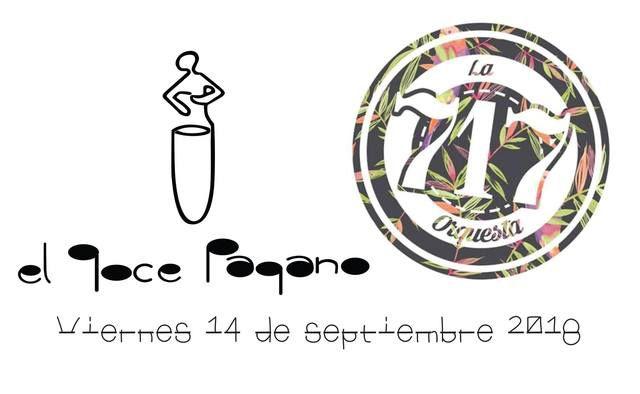 La 717 orquesta en El Goce Pagano.