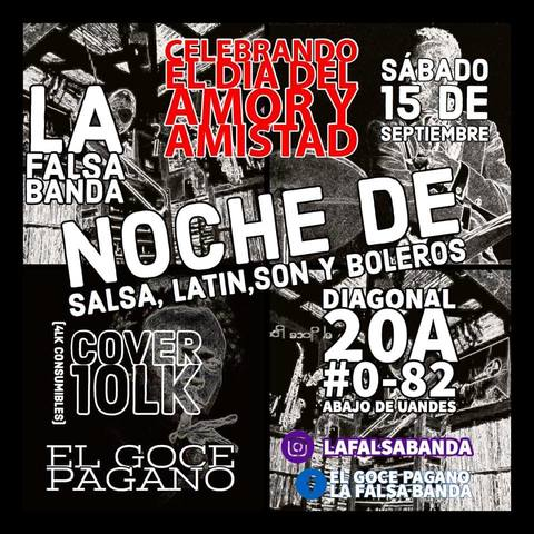 En vivo La falsa Banda en El Goce Pagano.