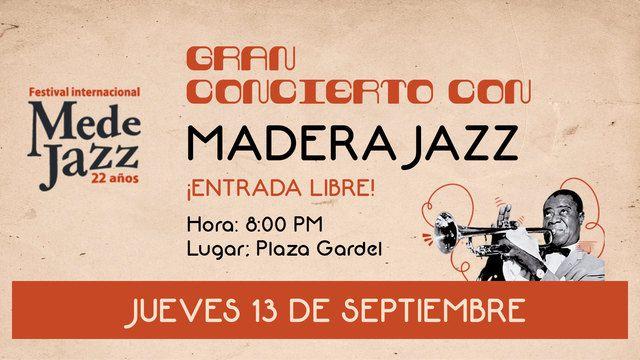 Madera Jazz En Concierto