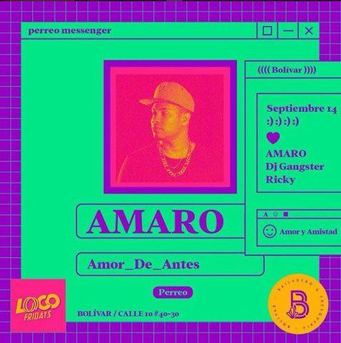 AMOR y AMISTAD con AMARO