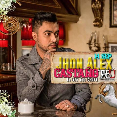 Jhon Alex Castaño en Tabú Studio Bar