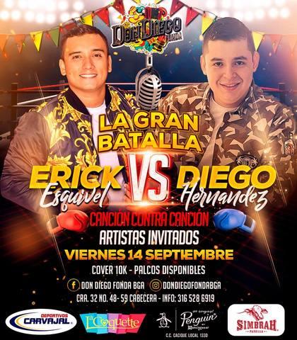 La Gran Batalla: Erick Esquivel Vs Diego Hernández